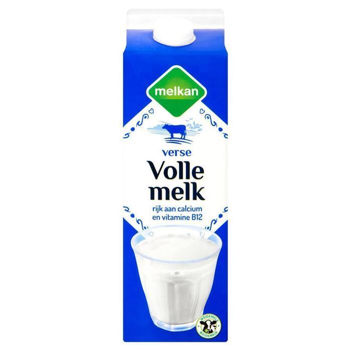 Melkan Volle melk (1L)