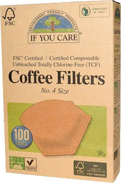 Coffee filters nr. 4 (100 st.)
