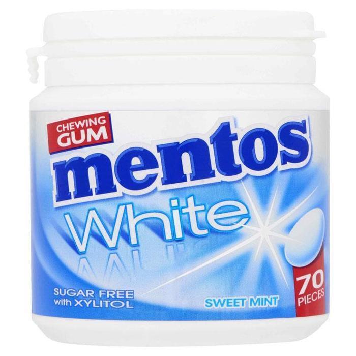 White Sweet Mint pot 70 stuks (Stuk, 70 × 105g)