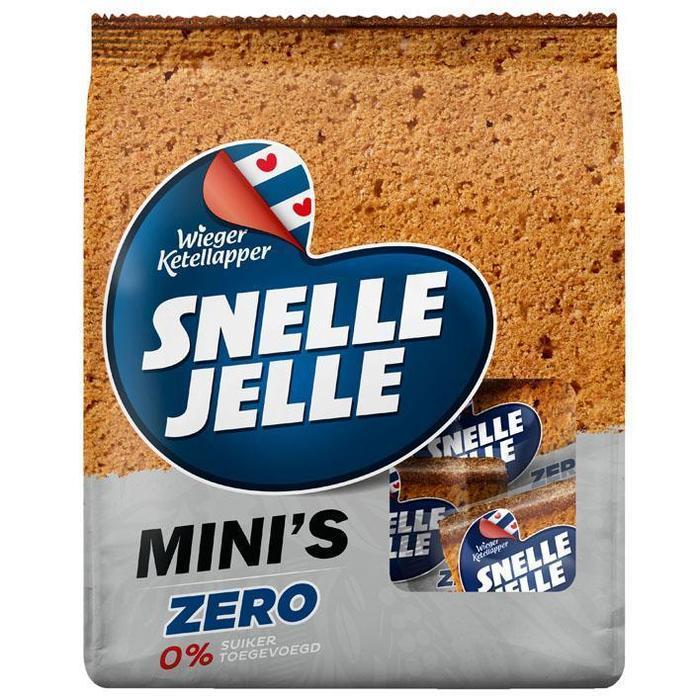 Snelle Jelle Mini's zero (10 × 168g)
