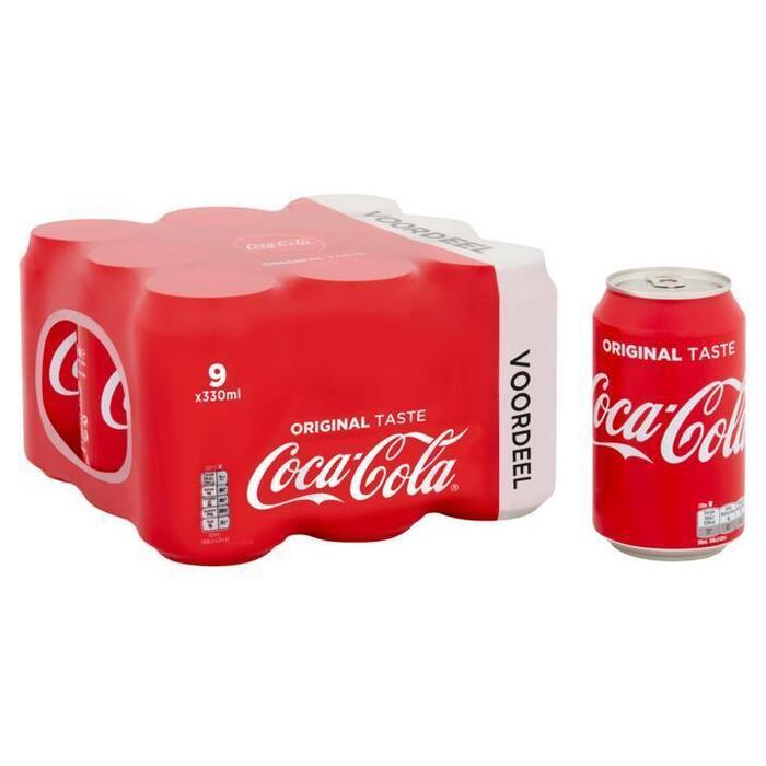 Coca-Cola 9 x 330ml (9 × 33cl)