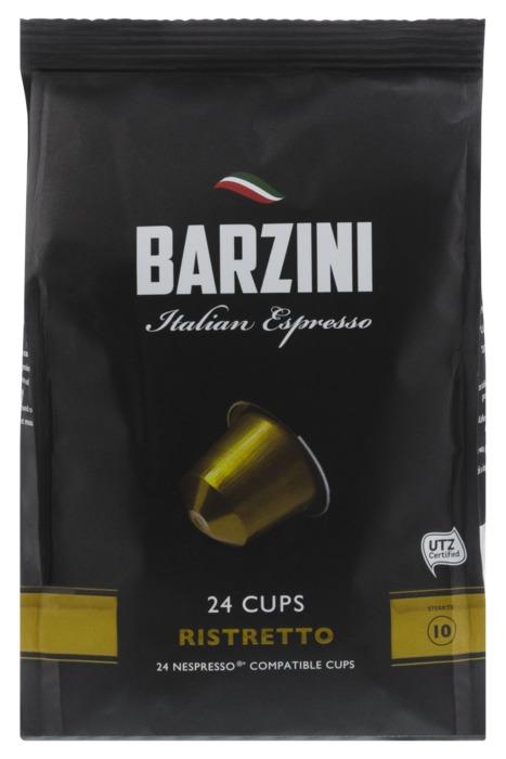 Barzini Ristretto Capsules 120 gram stazak (24 × 120g)