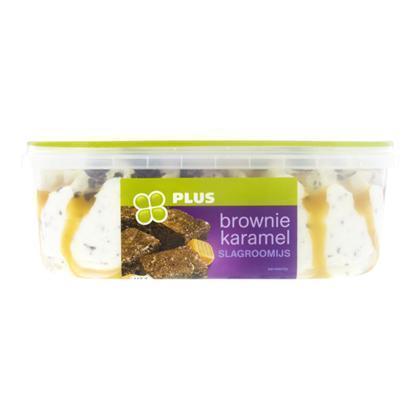Roomijs brownie-caramel (0.9L)