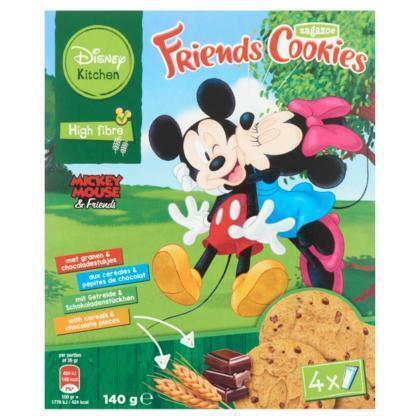Zagazoe Disney's mickey & minnie biscuits (4 × 140g)