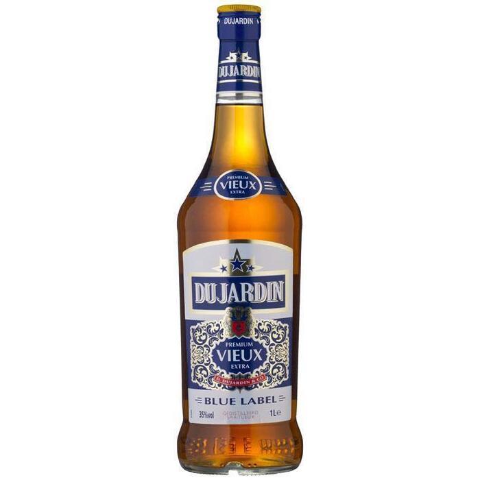 Dujardin Premium Vieux Extra Blue Label 1 L (rol, 100 × 1L)
