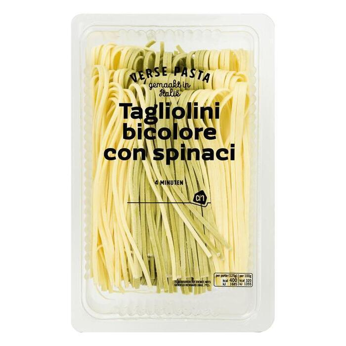 AH Verse tagliolini bicolore con spinaci (250g)