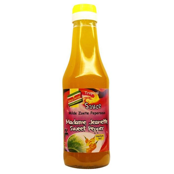 Madame Jeanette sweet pepper sauce (250ml)