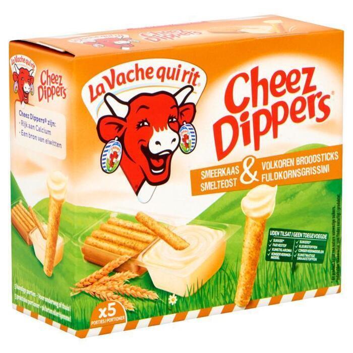 La Vache qui rit Cheez Dippers Volkoren 5 x 35g (5 × 35g)