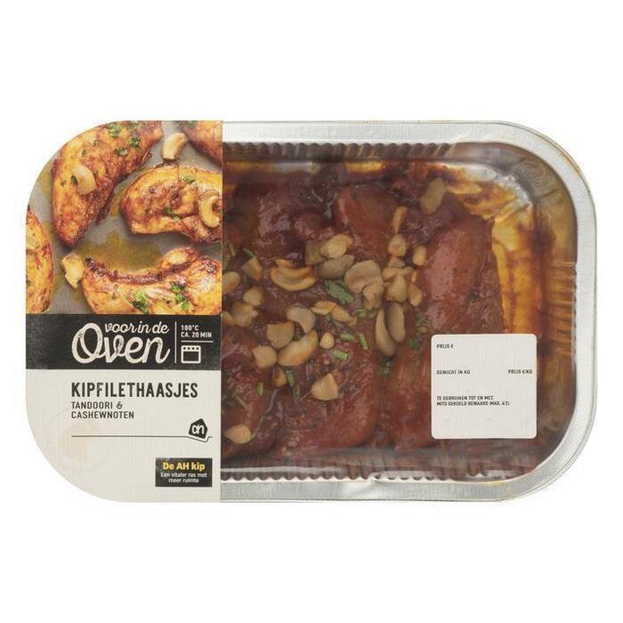 AH Ovenschotel kipfilethaasjes tandoori (390g)