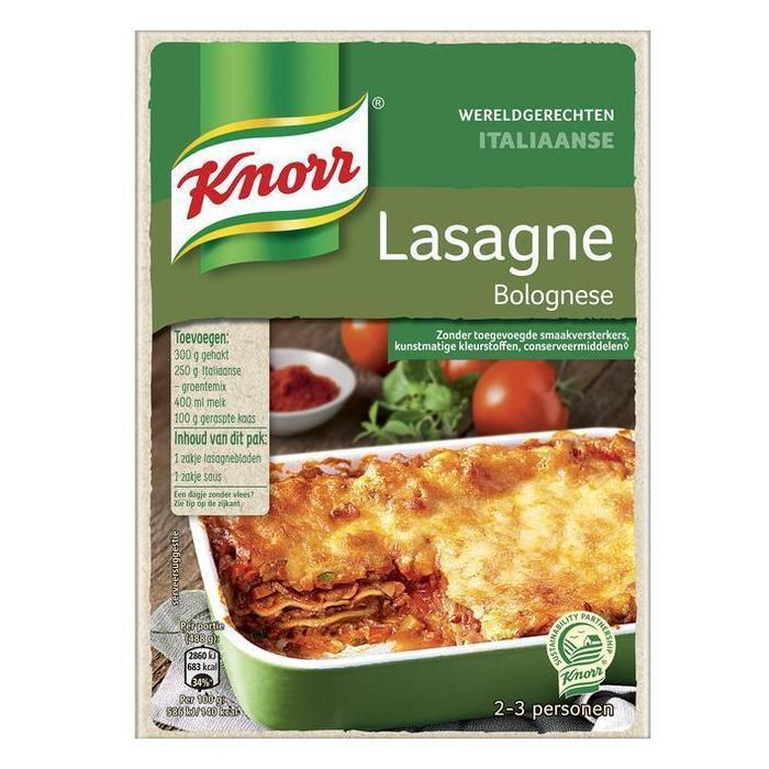 Knorr Wereldgerechten lasagne (191g)