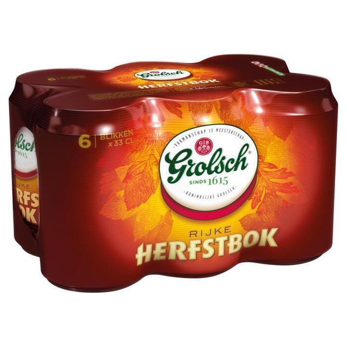 Grolsch Herfstbok (rol, 6 × 33cl)
