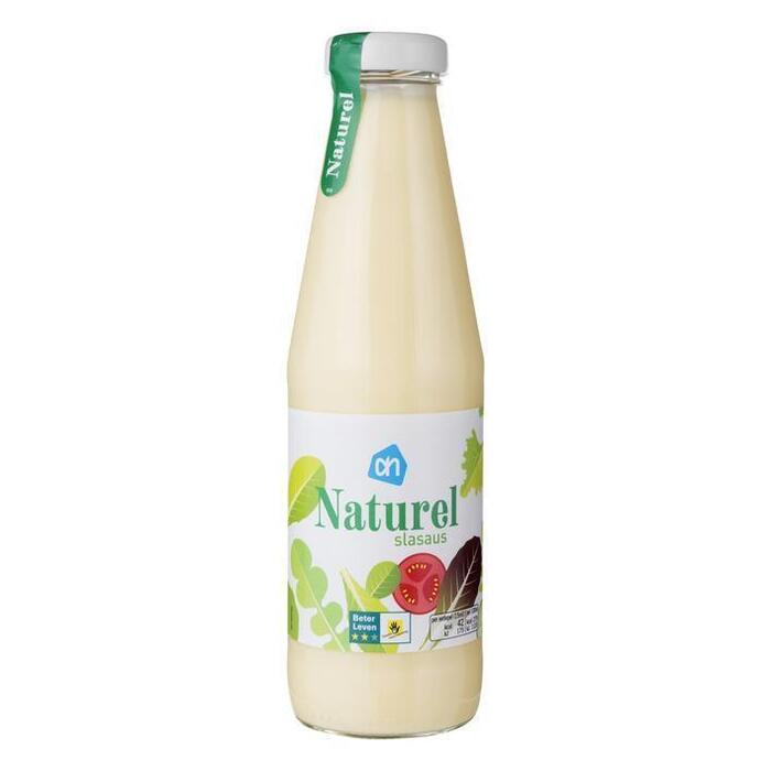 Slasaus naturel (fles, 0.5L)