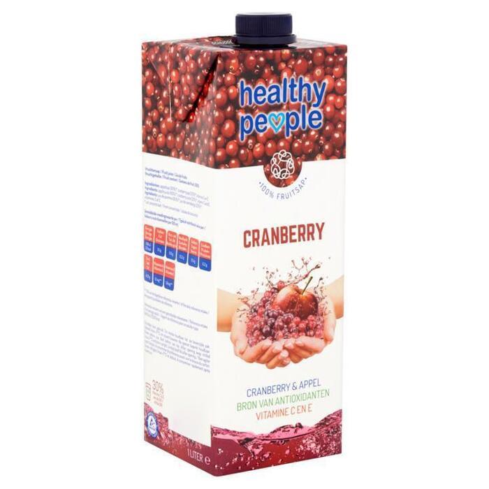 Healthy People Cranberry 1L (Stuk, 1L)