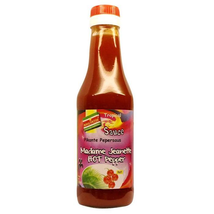 Madame jeanette hot pepper sauce (250ml)