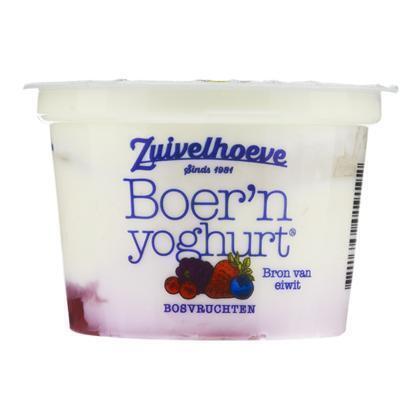 Zuivelhoeve Boer'n yoghurt bosvruchten (200g)