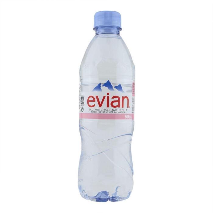 Evian Mineraalwater (0.5L)