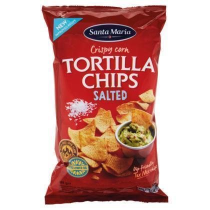 Tortilla Chips Salted (zak, 185g)