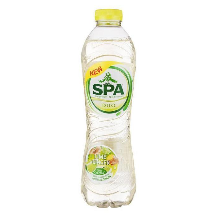 Spa DUO Lime Ginger 100cl (rol, 100 × 1L)