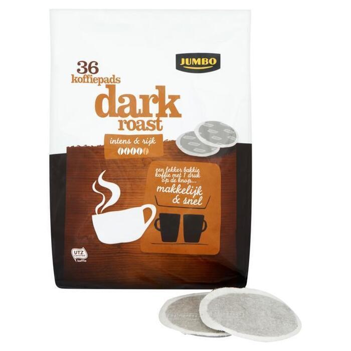 Jumbo Dark Roast 36 Koffiepads 250g (250g)