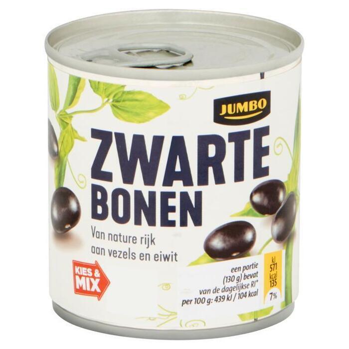 Jumbo Zwarte Bonen 200 g (200g)