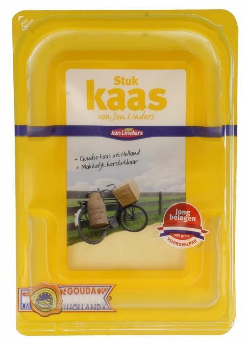 Jong belegen kaas voordeelstuk (930g)