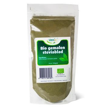 Steviablad (gemalen) (100g)