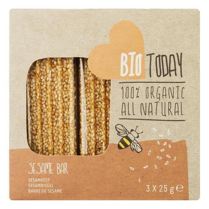 Bio Today Sesamrepen 3 x 25 g (Stuk, 3 × 75g)
