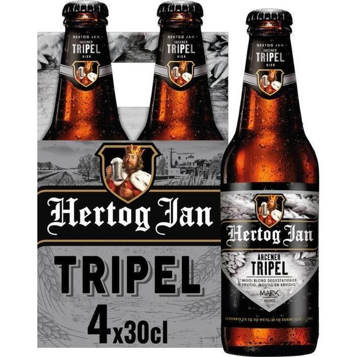 Hertog Jan triple (rol, 4 × 30cl)