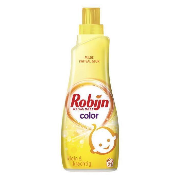 Robijn Wasmiddel klein & krachtig color Zwitsal (0.74L)