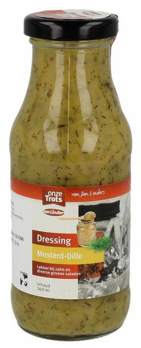 Onze Trots Dressing mosterd-dille (260ml)