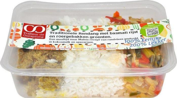 Rendang met rijst (450g)