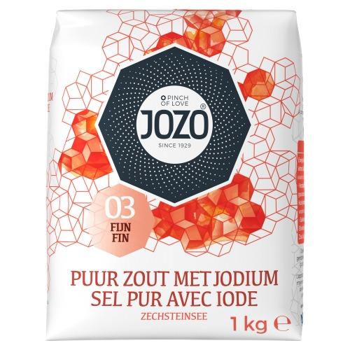 JOZO JODIUM 1 KG,12 STUKS IN WIKKEL (12 × 1kg)