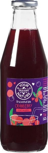 Vruchtendrank Cranberry (fles, 0.7L)