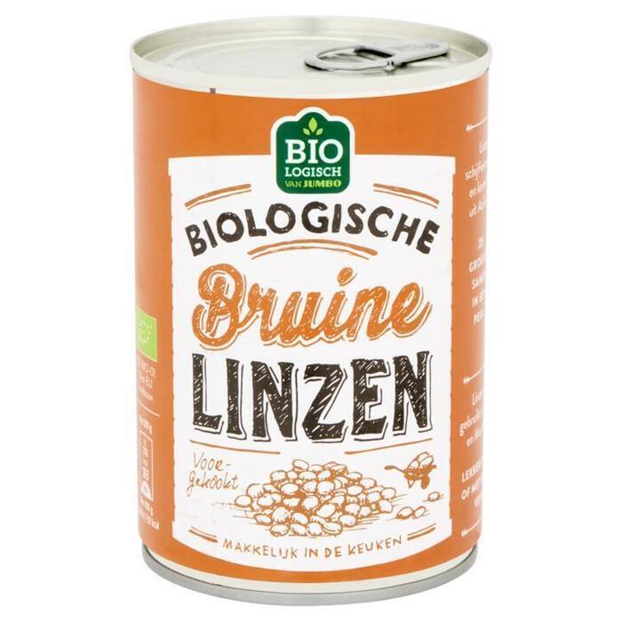 Jumbo Biologische Bruine Linzen 400 g (400g)