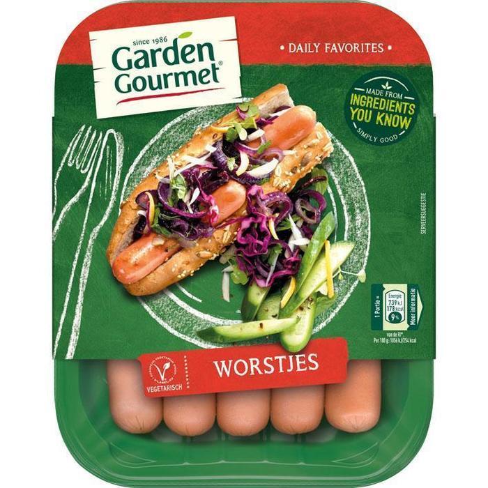 Garden Gourmet Vegetarische worstjes (175g)