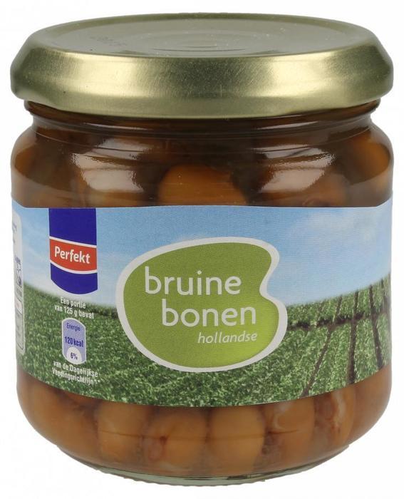Hollandse Bruine Bonen (pot, 180g)
