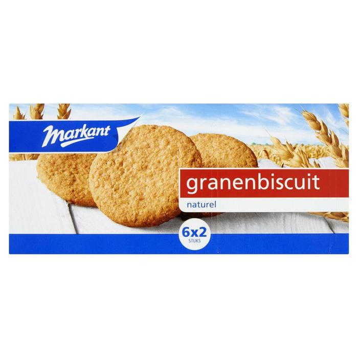 Markant Granenbiscuits naturel (171g)