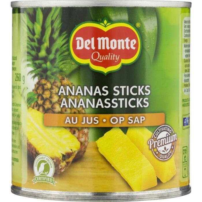 Ananassticks op Sap (blik, 435g)