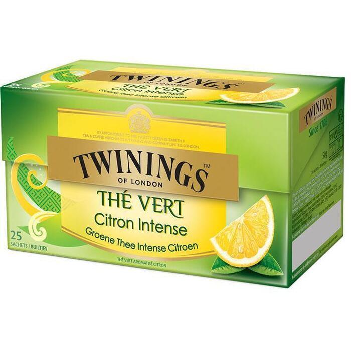 Twinings Groene thee/ citroen (25 × 50g)
