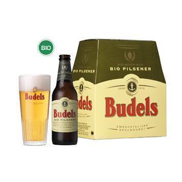 Budels Bio Pilsener (glas, 6 × 33cl)