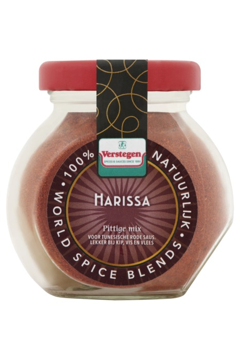 Verstegen specerijenmengeling Harissa 55 g fles (55g)