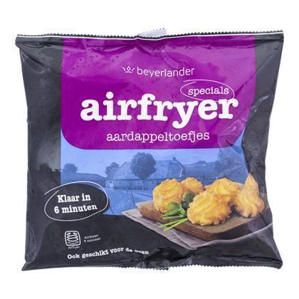 Airfryer aardappeltoefjes (400g)