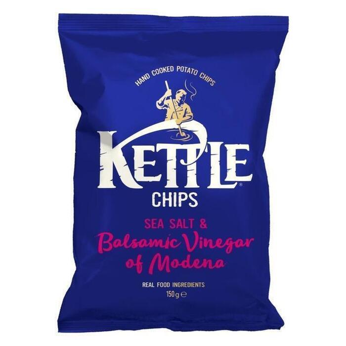 Kettle Chips Sea Salt & Balsamic Vinegar (150g)
