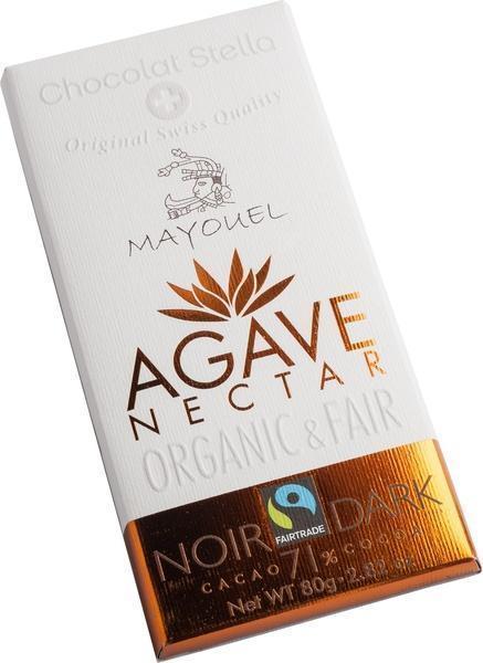 Puur 71% - agave nectar (80g)