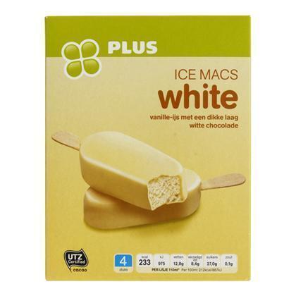 Icemacs white 4 stuks (304g)