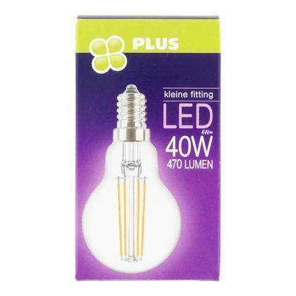 Lamp LED 40W Kogel kleine fit helder