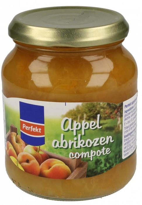 Appel Abrikozen Compote (pot, 360g)
