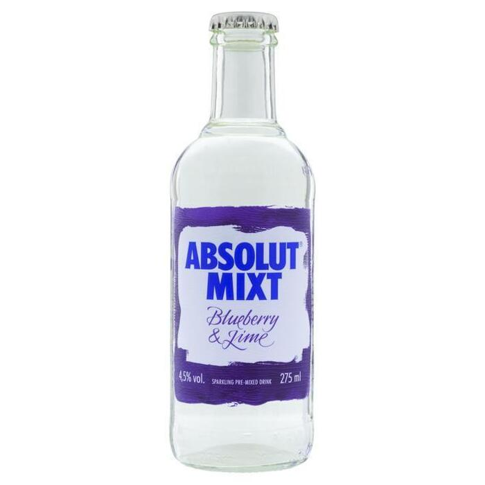 Absolut Mixt blueberry & lime (275ml)