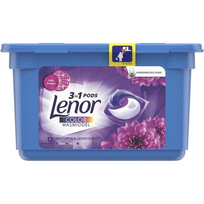 Lenor 3in1 pods amethist & bloemen (13 × 400g)
