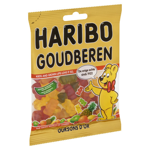Haribo Oursons d'Or 75 g (75g)